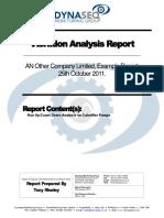 VA Example Technical Report
