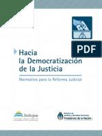 Democratización d La Justicia
