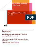 Risk Assurance_Fall 2014 GMU 12.1.14 - For Students