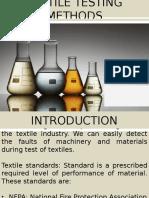 Textile Testing Methods