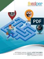 Informe  FECOLPER 2015