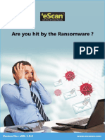 Are You Hit by Ransomware?