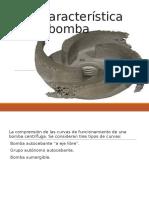 Curva Característica de Una Bomba