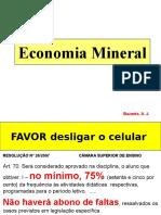 O Que é Economia Mineral