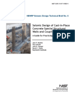 Seismic Design of Walls