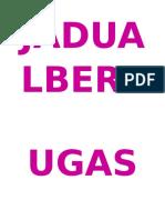 JADUALBERTUGAS GURU