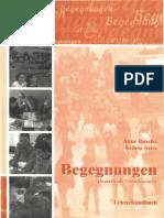 Begegnungen_A2_Lehrerhandbuch