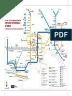 Mappa Rete Metropolitana Napoli