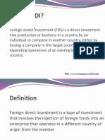 FDI in Defence