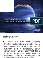 Restoration of Endodontically Treated Tooth 97