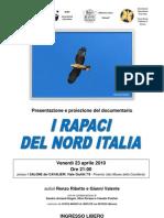 Documentario i rapaci del nord Italia