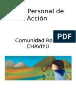 plan personal de acción scout