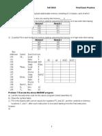 CDA 3103 Homework