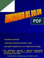 Farmacologia Da Dor