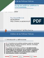 Tema 5. analisis de las politicas publicas universidad de valencia