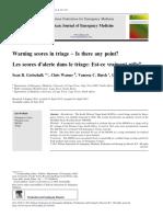 Warning Score in Triage