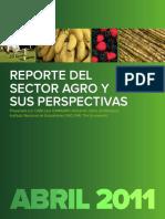 Report e Abril 2011 actividad agricola (guatemala)