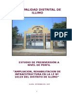Perfil Colegio Illimo Actual