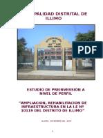 Perfil Colegio Illimo Actual