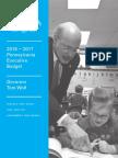 2016-17 Governor's Executive Budget