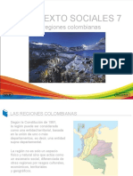 Las Regiones Colombianas