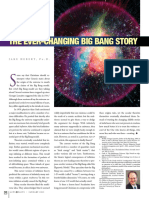 The Ever-Changing Big Bang Story