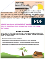 summer newsletter 2015