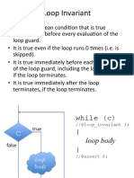 02 Contracts Loopinvariant