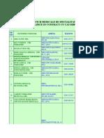 Contracte Ambulatoriu Clinic Valabile de La 01.05.2015-2