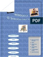 Webquest Sedentarismo