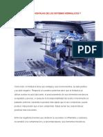 Ventajas y Dedesventajas de Los Sistemas Hidraulicos y Neumaticos