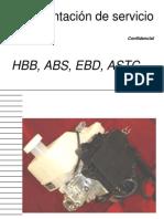 Sistema Frenos Hbb Abs Ebd Astc Bk
