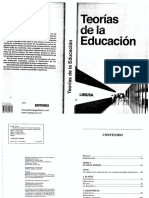 Teorias de La Educacion
