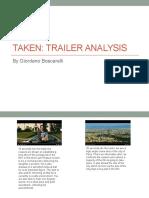 Thriller Trailer Analysis