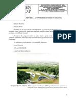 Informare Cu Privire La Acoperisul Verde