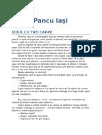 Octav Pancu Iasi-Iedul Cu Trei Capre 02