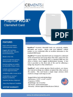RapidPROX INDALA Clamshell Card v2016