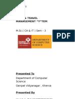 Tour Travel Management System