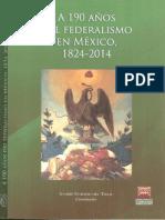 A 190 Años Del Federalismo en México 1824-2014