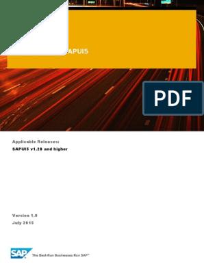 Data Binding in SAPUI5   Json   Xml