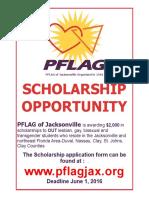 2016 Scholarship Opportunity Flyer 2