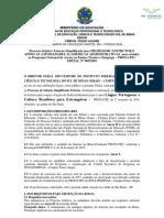 EDITAL Contratação - São Paulo I