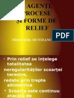Agenti Procese Si Forme de Relief