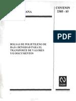 Bolsas Para Transporte de Valores y Documentos
