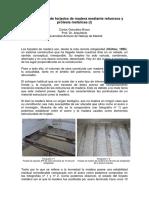 Refuerzo de estructuras de madera