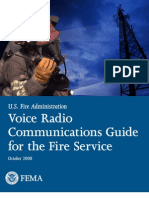 U.S. Fire Administration Voice Communications Guide for the Fire Service - FEMA