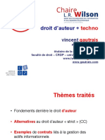 Droit des affaires électroniques - Cours 4