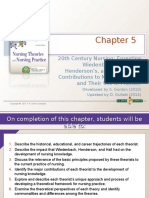 chapter 5 early conceptualizations about nursing