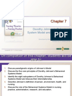 chapter 7 dorothy johnsons behavioral system model and its applications