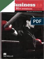 The Business 2 0 Intermediate b1 Student s Book